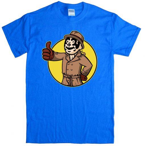 Inkblot Boy Shirt - Watchmen Rorschach T-Shirt