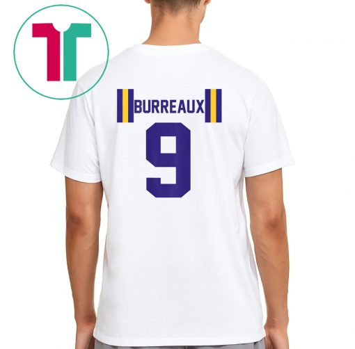 JOE BURREAUX NUMBER 9 BACK PRINT T-Shirt