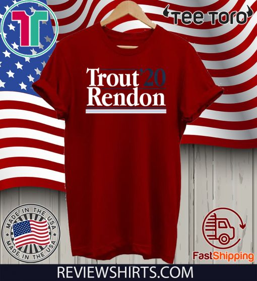 Mike Trout Anthony Rendon 2020 Shirt T-Shirt