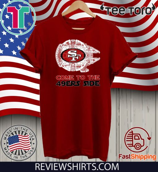 San Francisco Come To The 49ers Side Classic T-Shirt