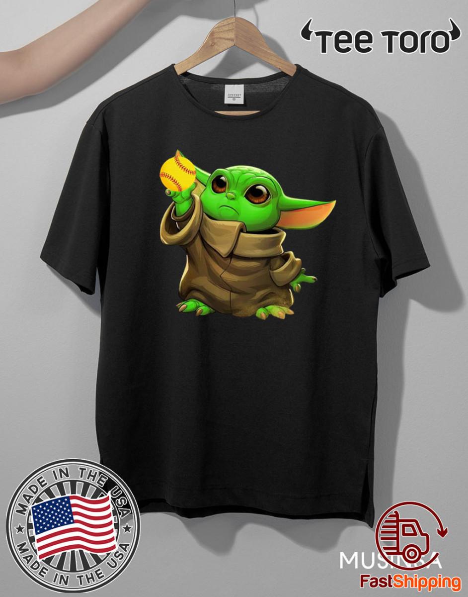 Baby Yoda Baseball T-Shirt
