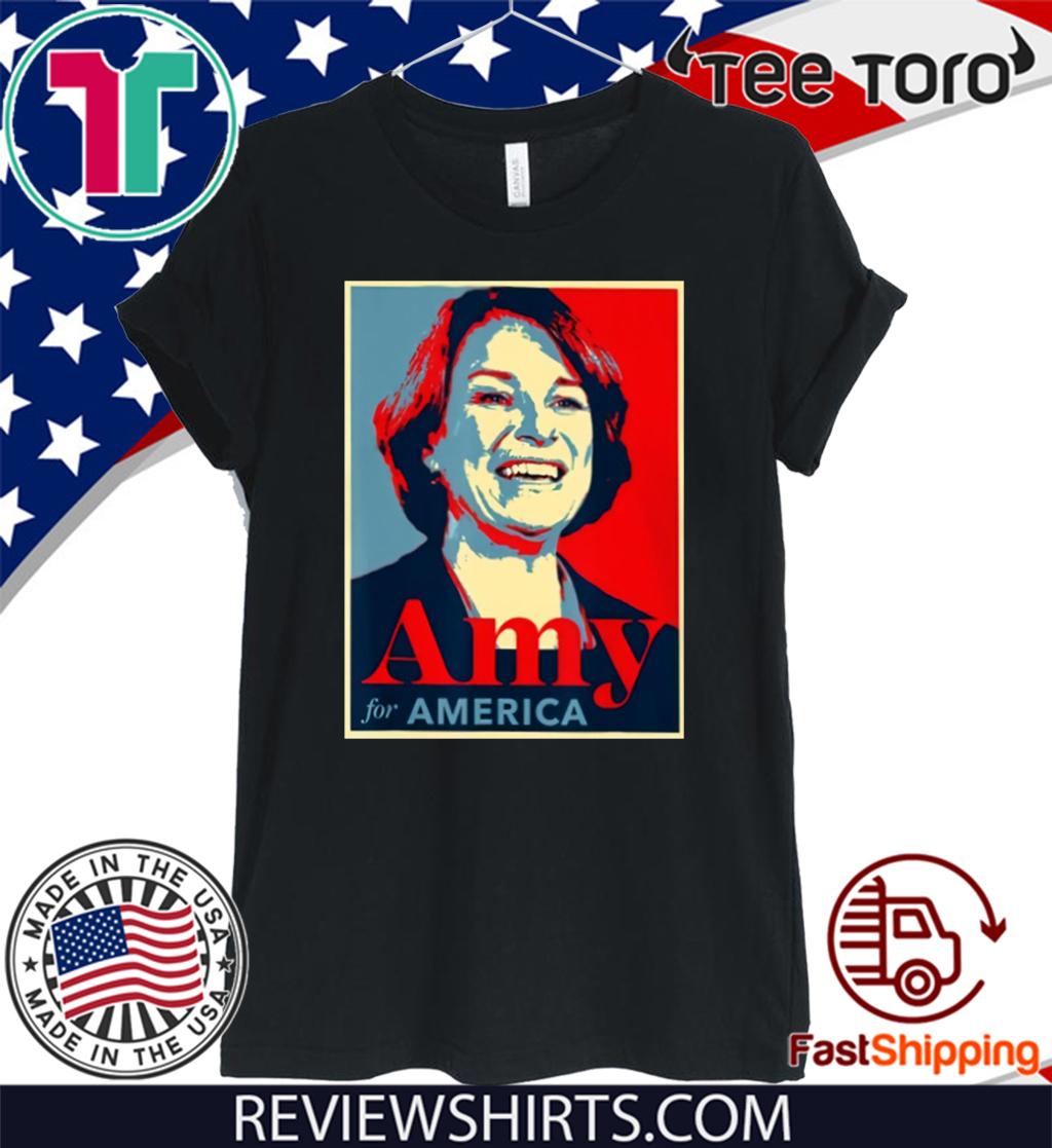 Klobuchar For President Amy Klobuchar 2020 T-Shirt