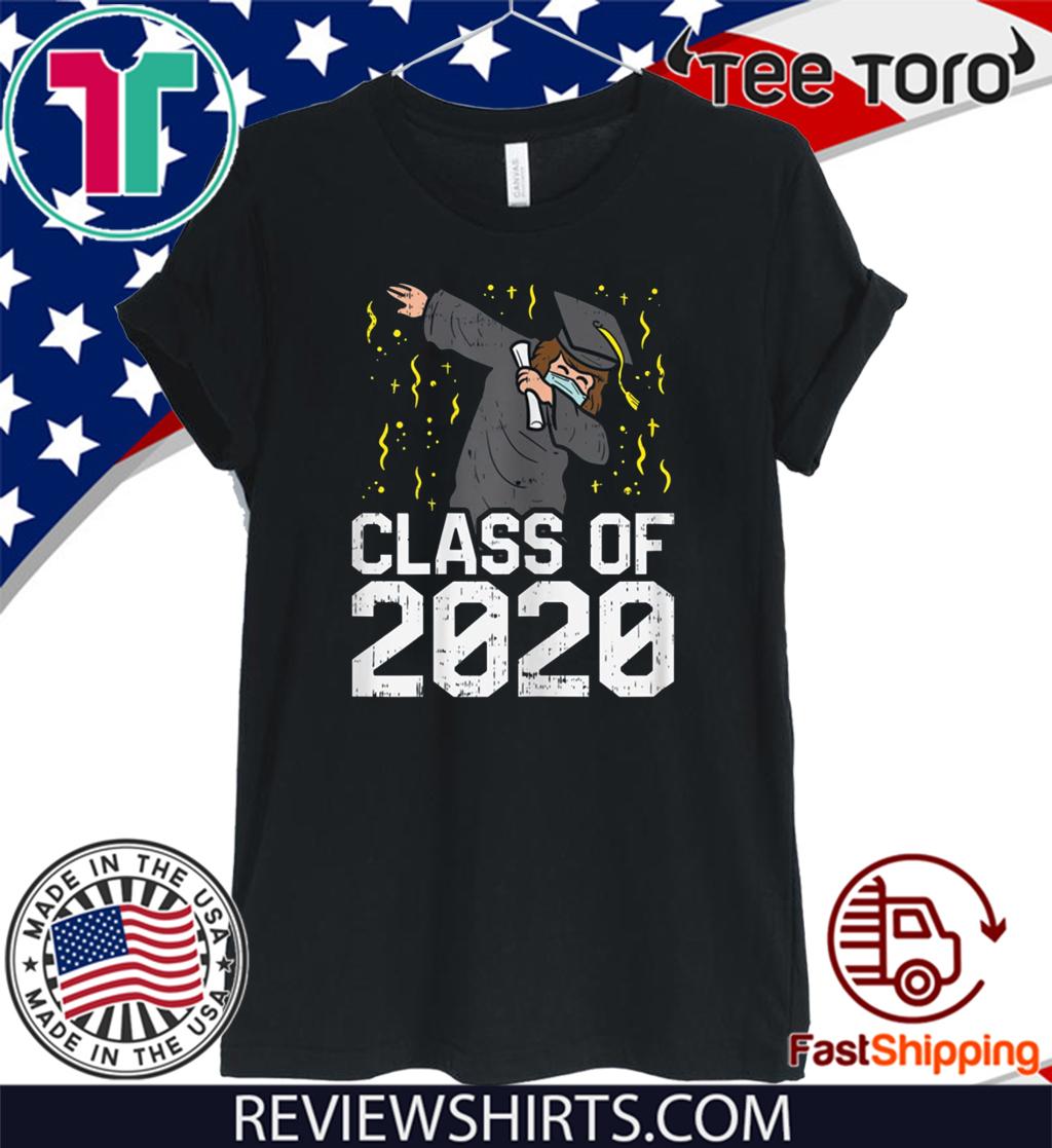 Dabbing Graduate Class Of 2020 Funny Social Distancing Official T-Shirt