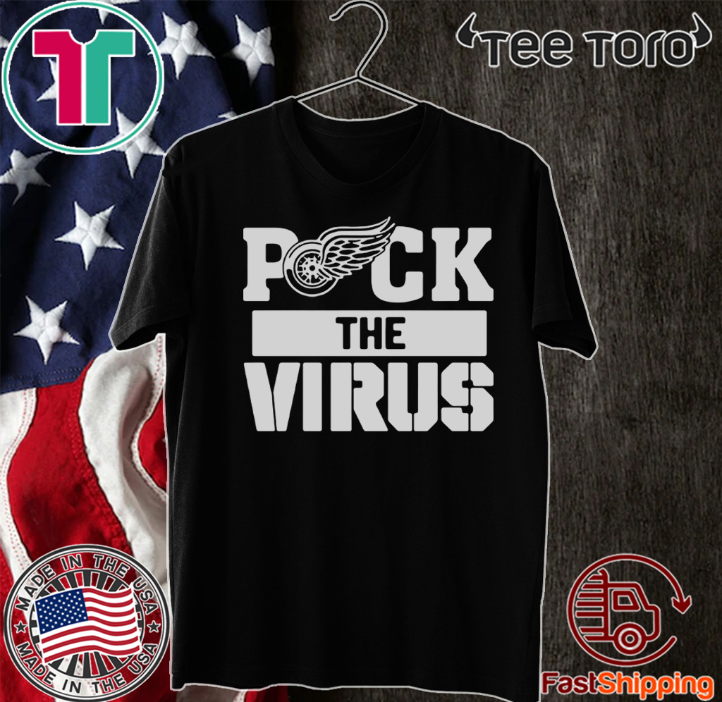Detroit Red Wings Puck The Virus 2020 T-Shirt