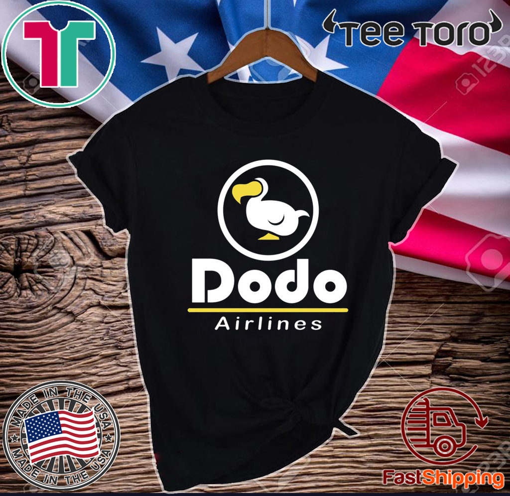 Dodo Airlines Official T-Shirt