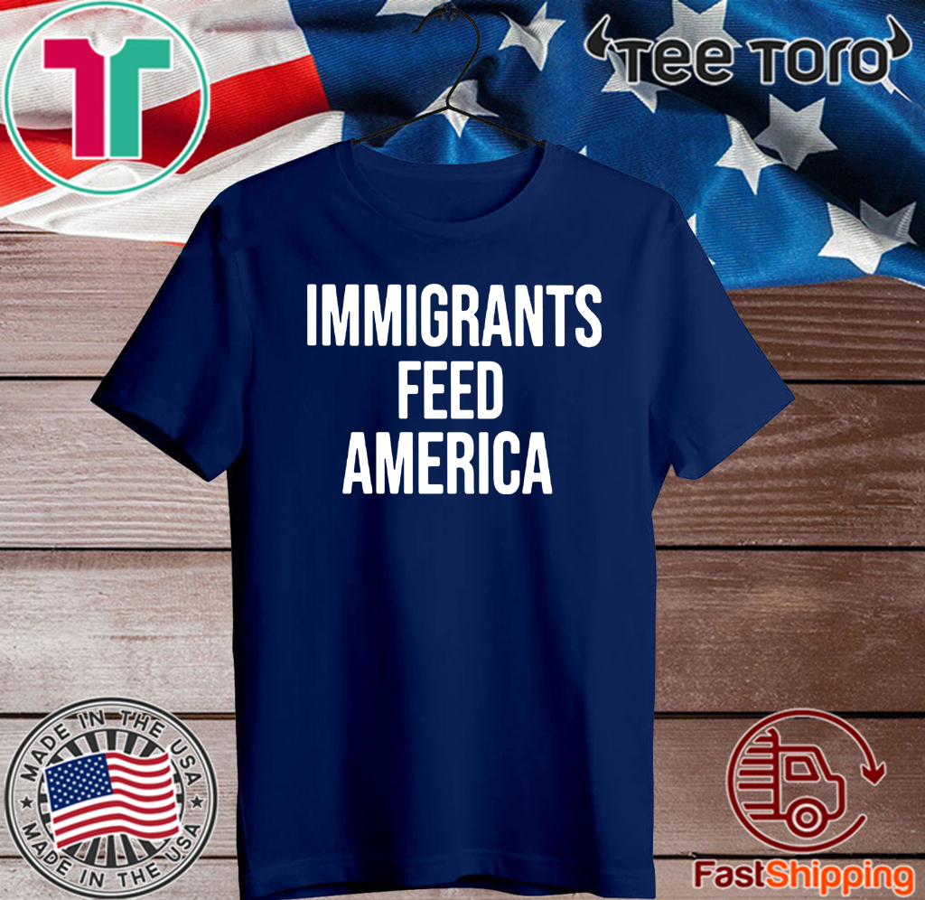 Jose Andres wears Immigrants Feed America 2020 T-Shirt