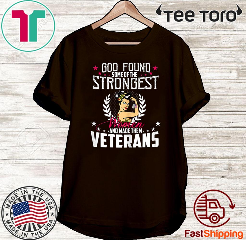 Strongest Women Veteran U.s Veteran Day 2020 T-Shirt Masswerks Store