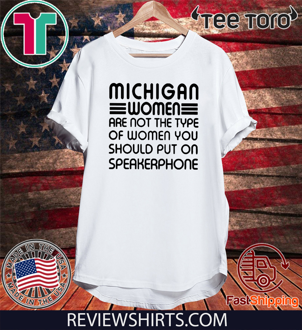 that woman from michigan Official T-Shirt