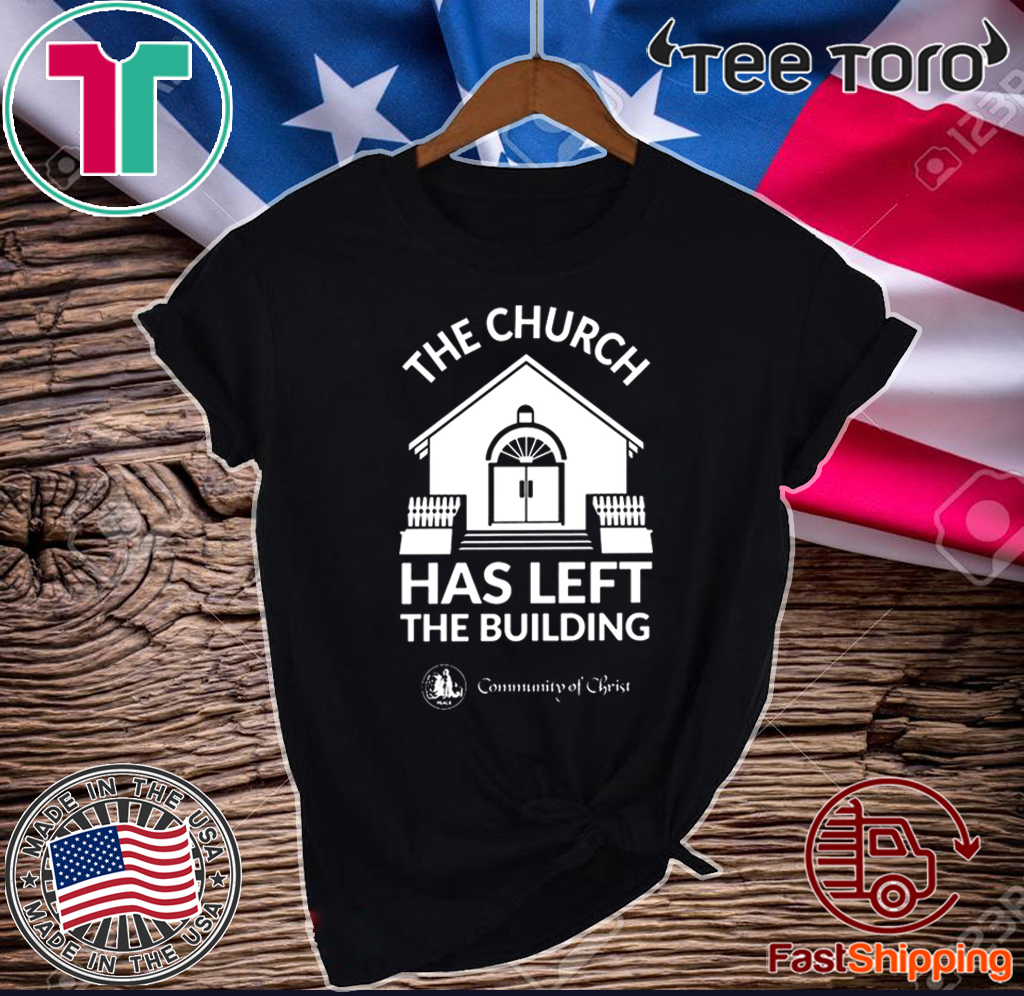 The Church Has Left The Building Official T-Shirt