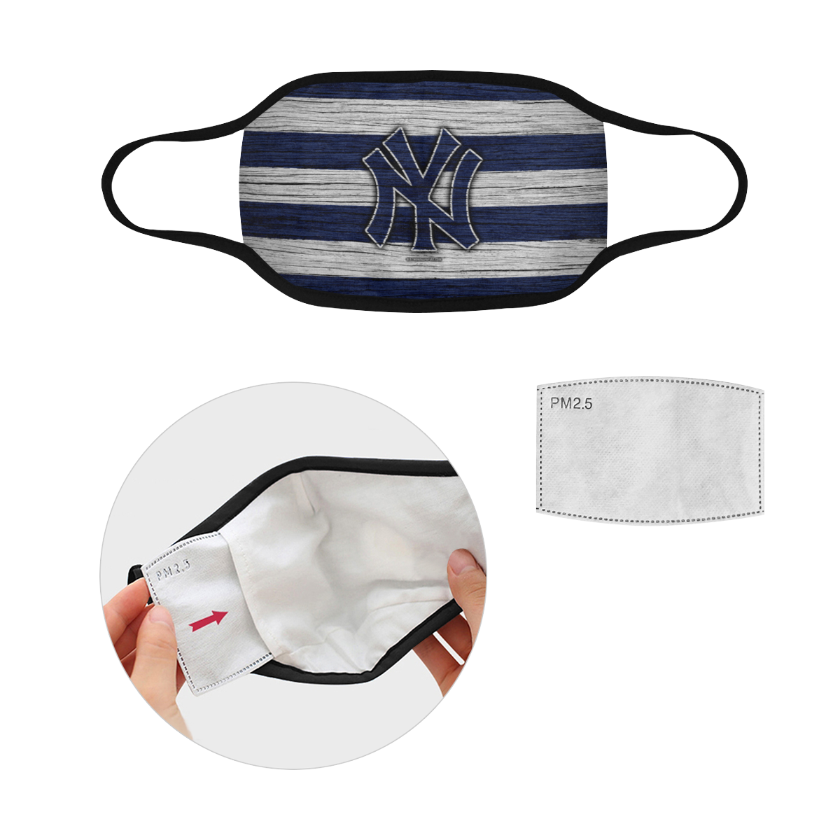 New York Yankees Face Mask Pm2 5 Hoodie Sweatshirt And Long Sleeve