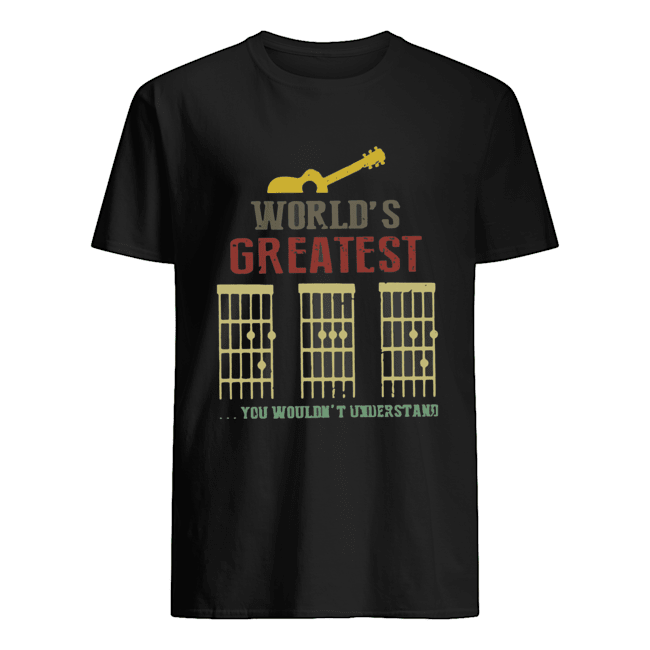 World's Greatest Guitar You Wouldn't Understand  Classic Men's T-shirt