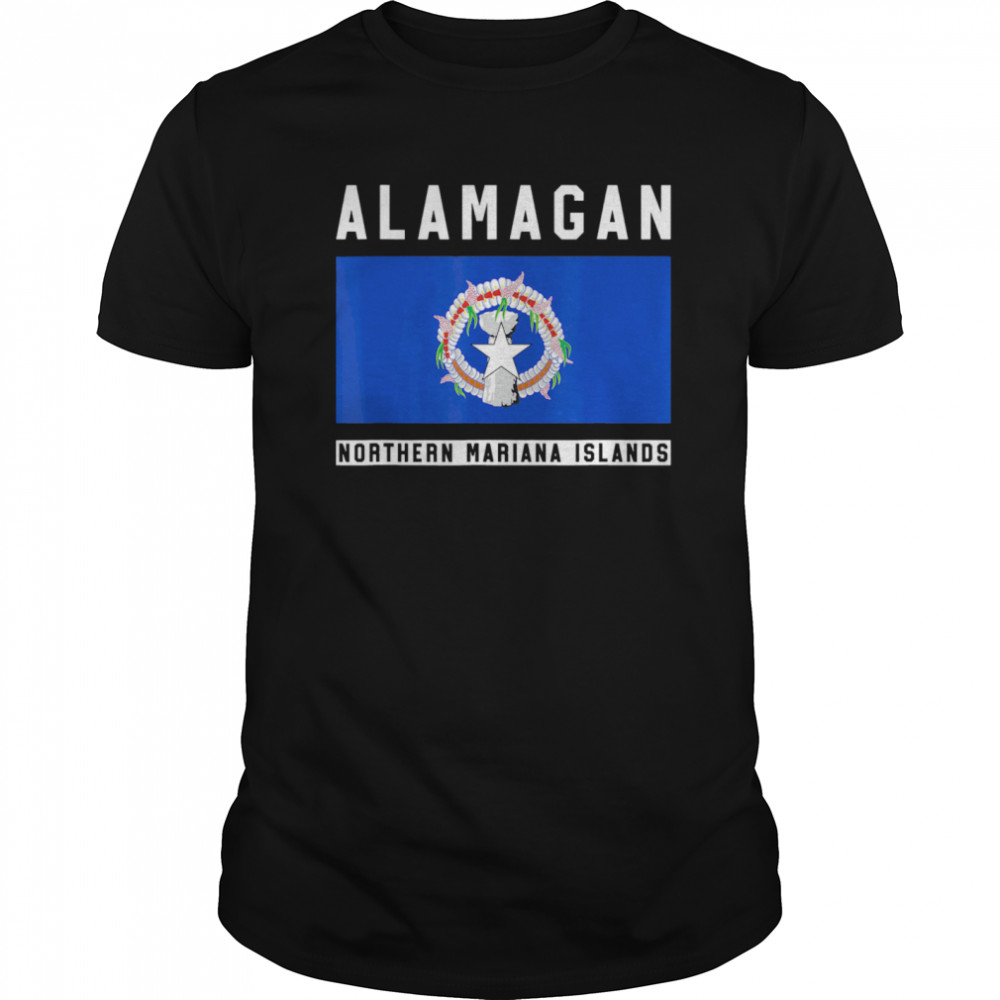 Alamagan Northern Mariana Islands Classic Men's T-shirt