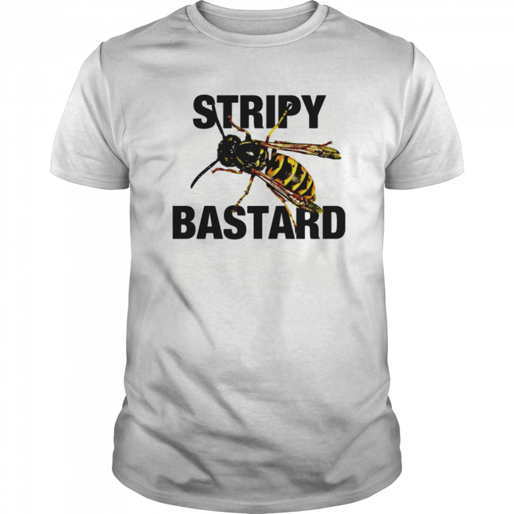 Bee Stripy Bastard Classic Men's T-shirt