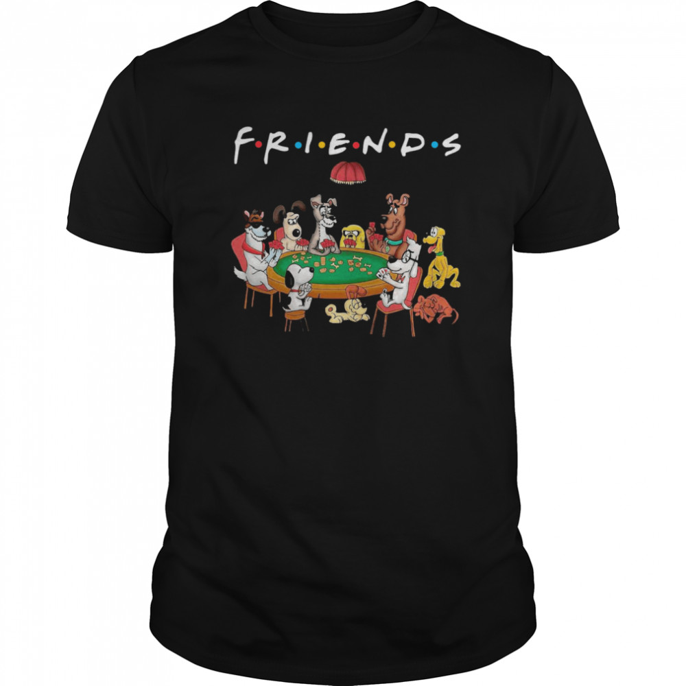 Friends All Dogs Characters Classic Men's T-shirt