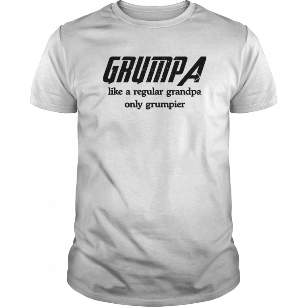 Grumpa Like A Regular Grandpa Only Grumpier Classic Men's T-shirt