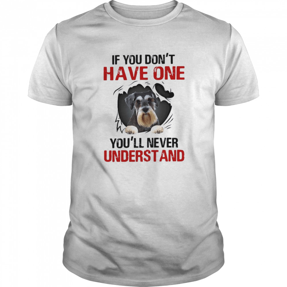 If You Don't Have One You'll Never Understand Classic Men's T-shirt