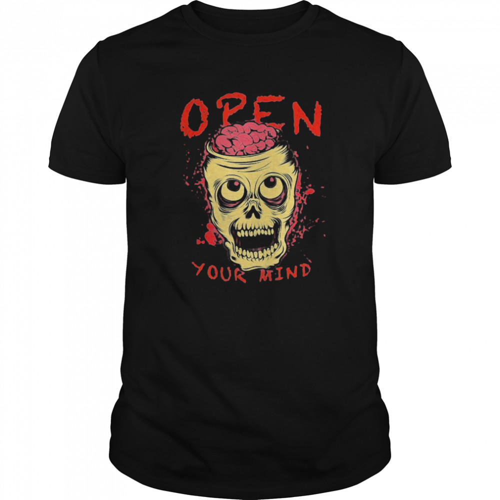 Open Your Mind Halloween Classic Men's T-shirt