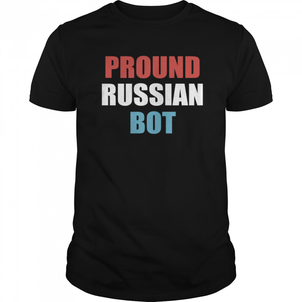 Pround Russian Bot Classic Men's T-shirt