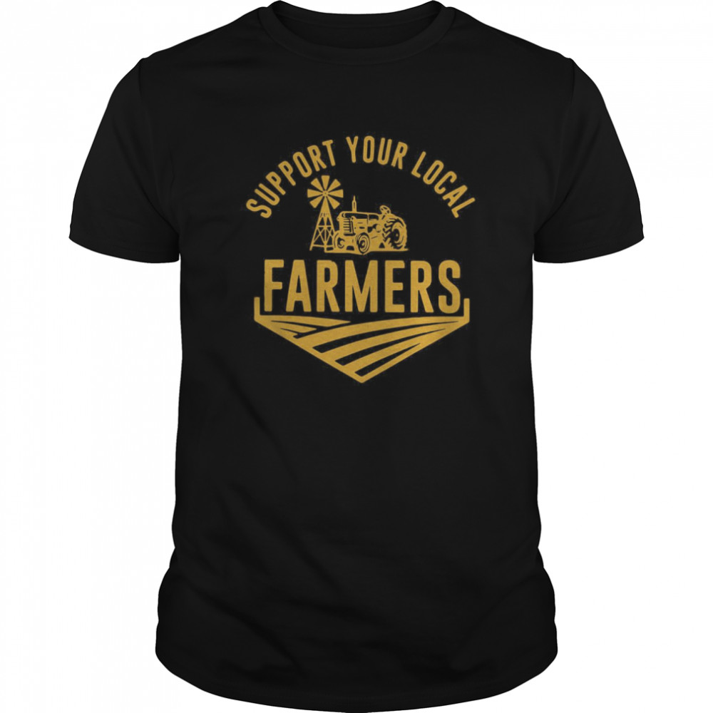 Support Your Local Farmers Classic Men's T-shirt