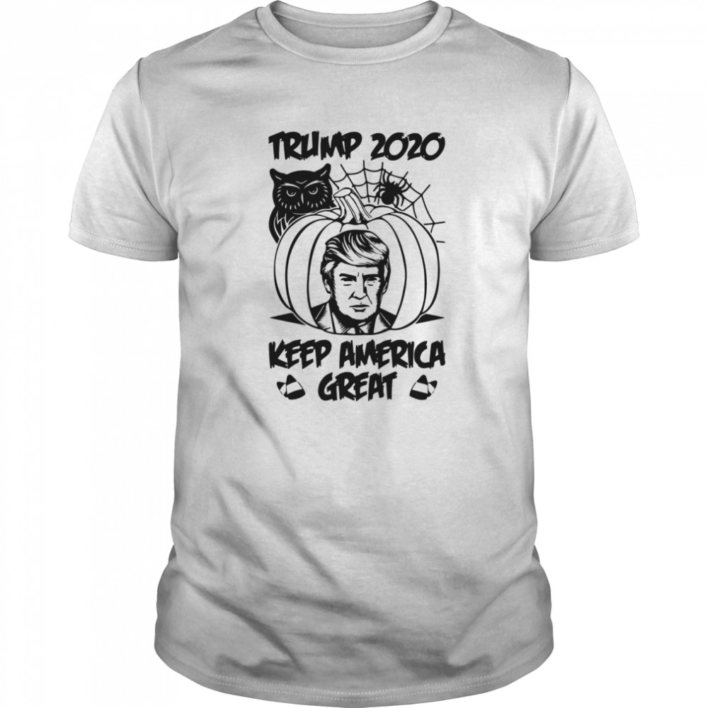 Trump 2020 Keeping America Great Halloween Classic Men's T-shirt